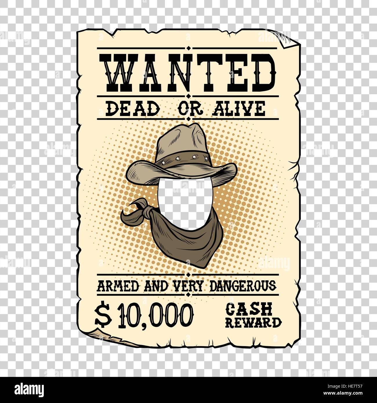 Charmant Western Wollte Poster Vorlage Fotos - Beispiel Anschreiben ...