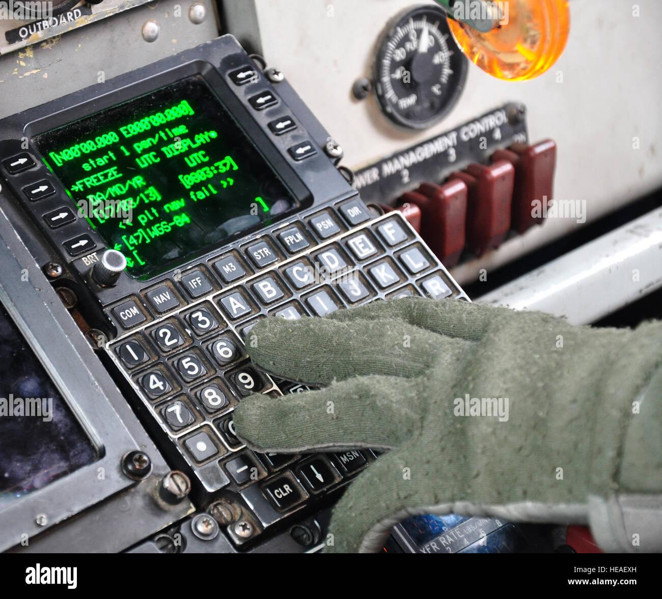 Flight Management System Stockfotos & Flight Management System ...
