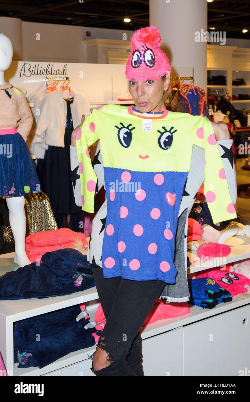DJane, Giulia Siegel, den Luxus Shop \