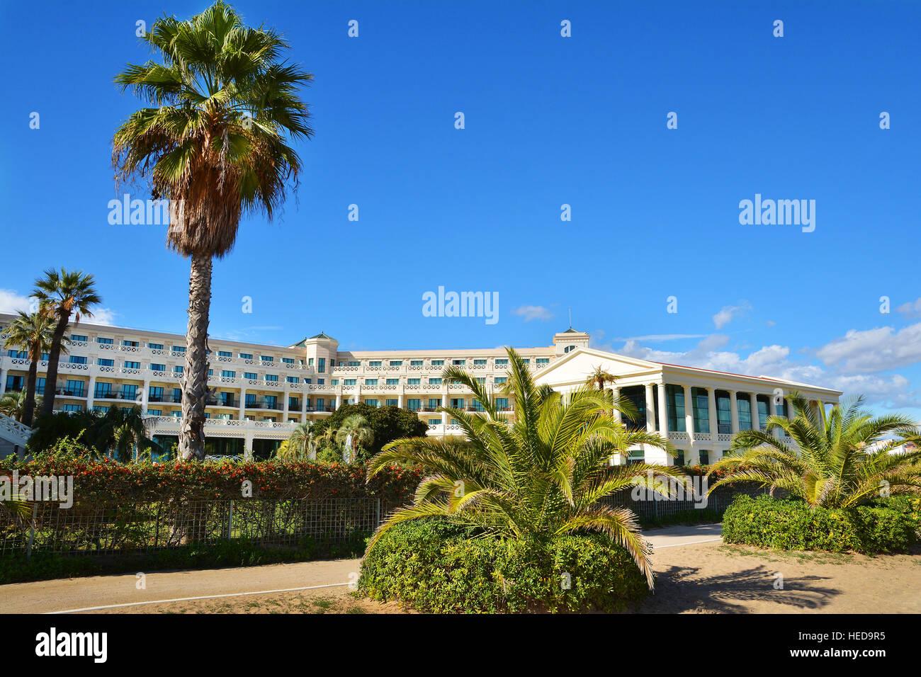 Hotel Las Arenas Am Malvarrosa Strand Von Valencia Spanien