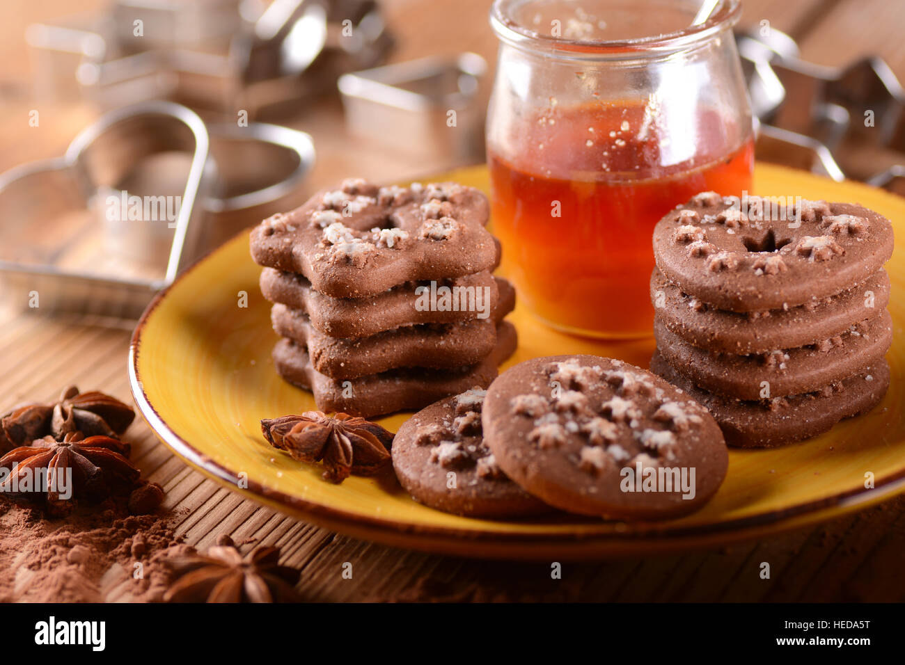 cookies pile stockfotos cookies pile bilder alamy. Black Bedroom Furniture Sets. Home Design Ideas