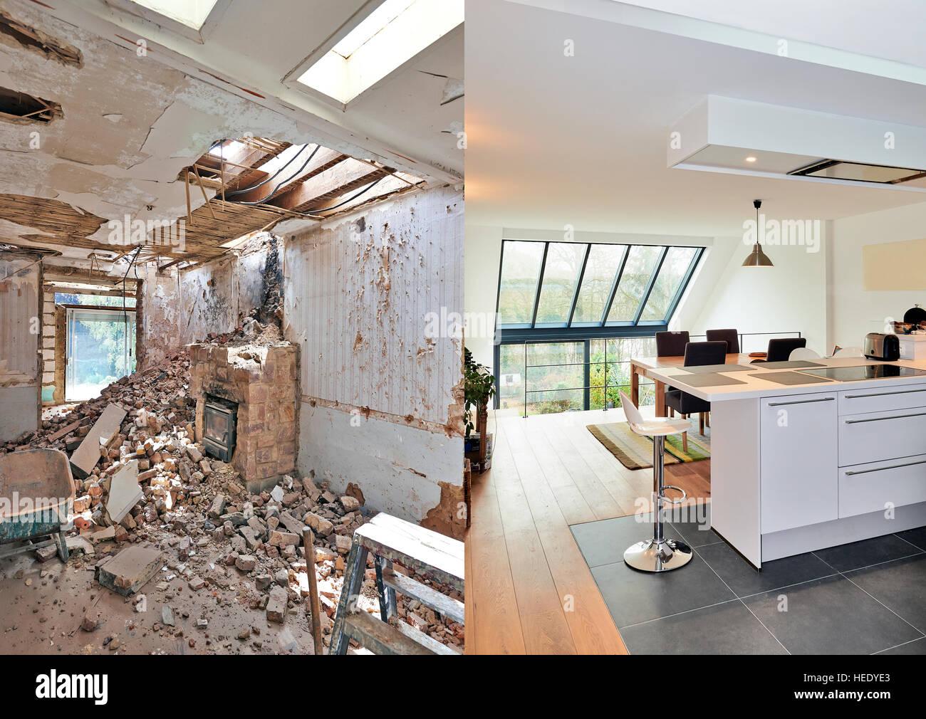 Charmant Küche Umbau Auftragnehmer Rich Va Fotos - Ideen Für Die ...