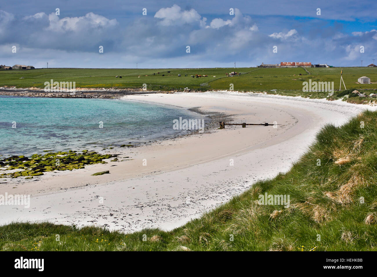 Papa Westray; Orkney; Schottland; UK Stockbild