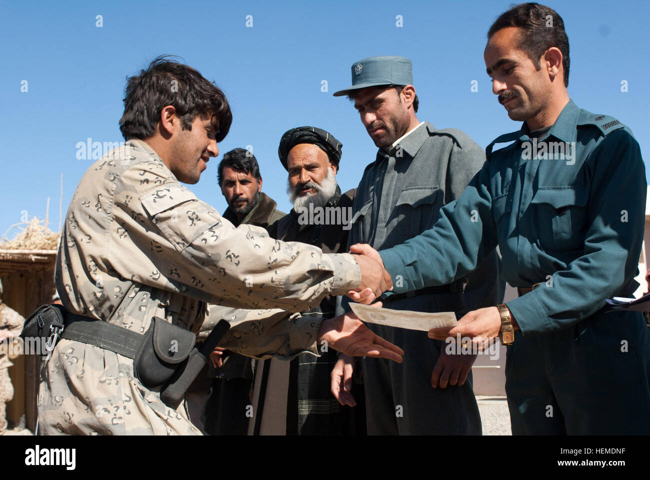 Security Chief In Kandahar Stockfotos & Security Chief In Kandahar ...