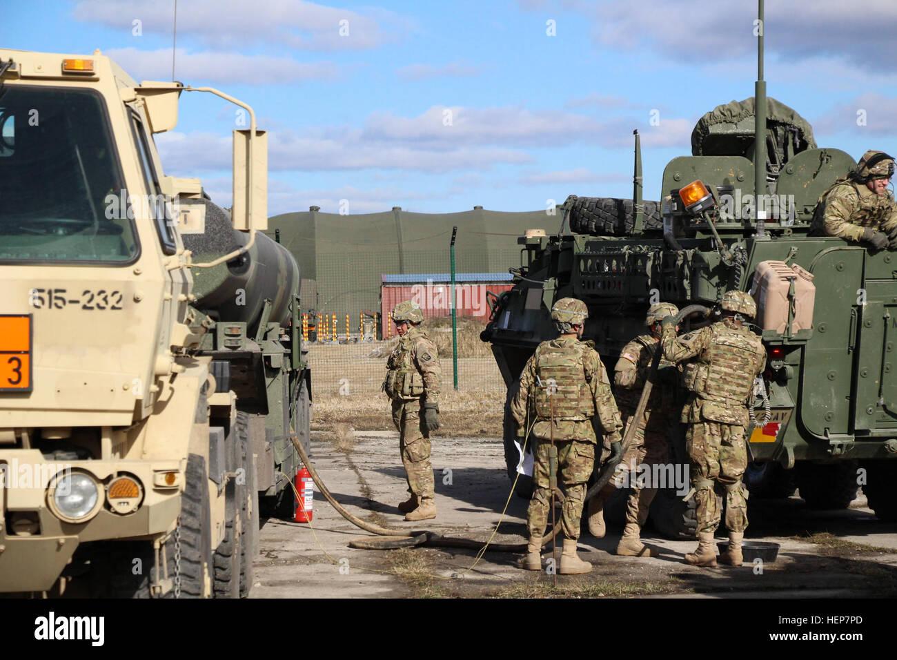 515th Transportation Firma Soldaten der 16. Sustainment Brigade ...