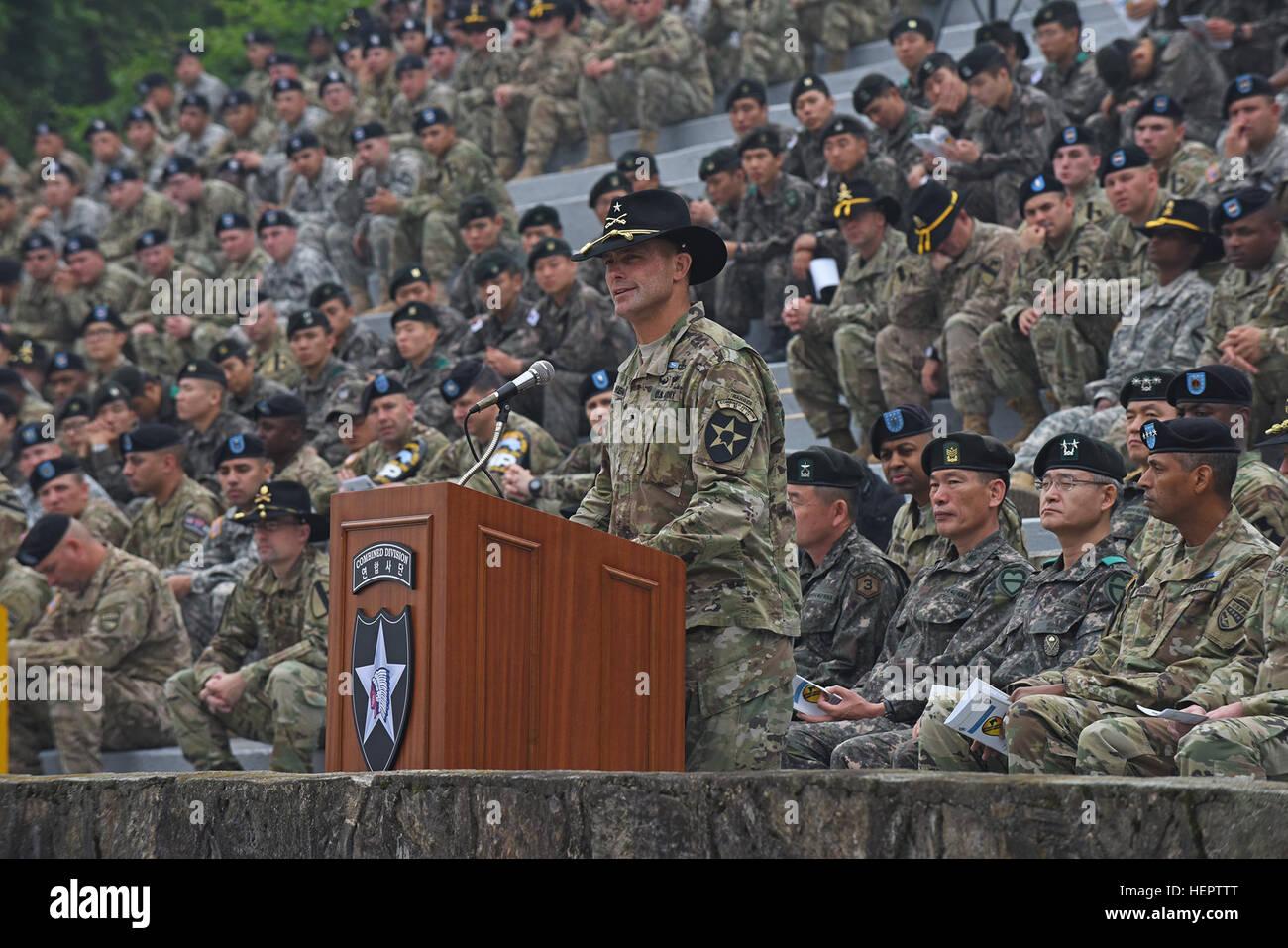 Major General Brian Mennes, stellvertretender Kommandierender ...