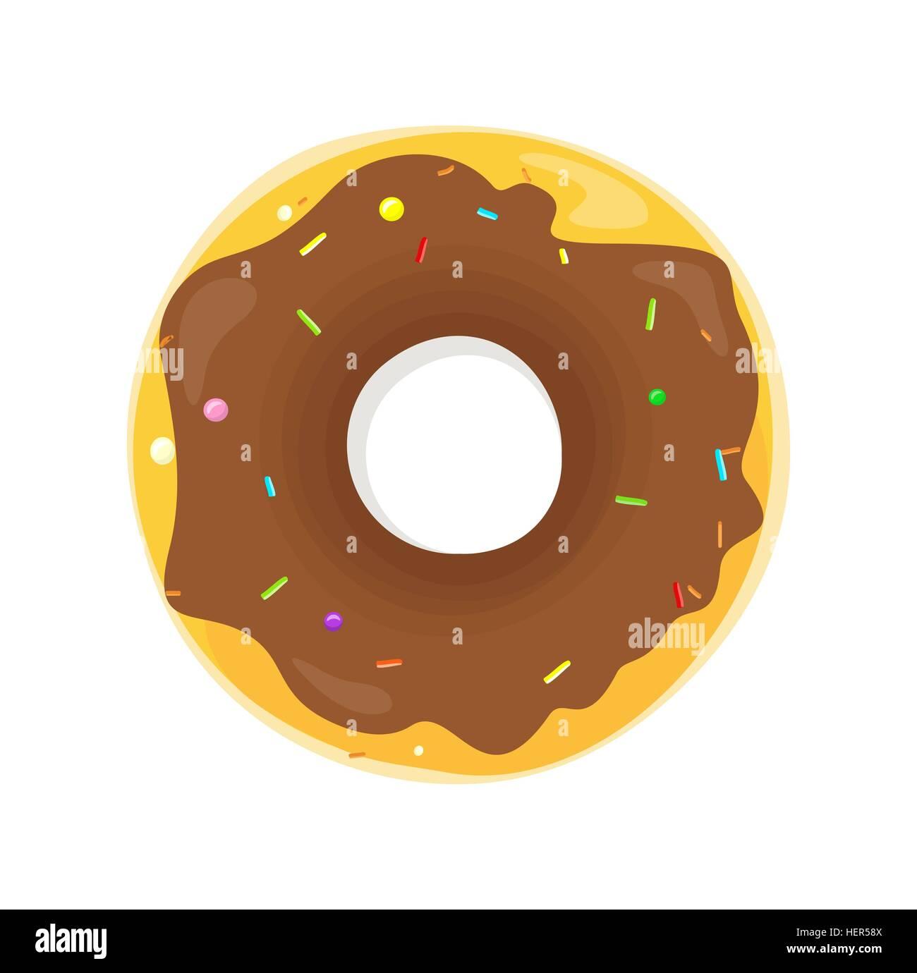 gelbes kuchendesign logos, donut-logo. süße krapfen entwerfen flache essen. donut, donuts, Design ideen