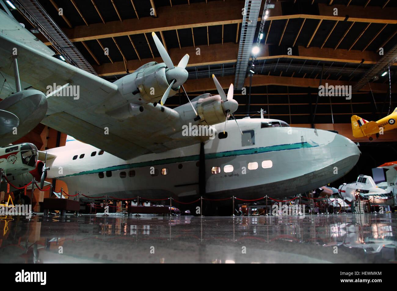 Short Brothers Sunderland Flying Boat Stockfotos & Short Brothers ...