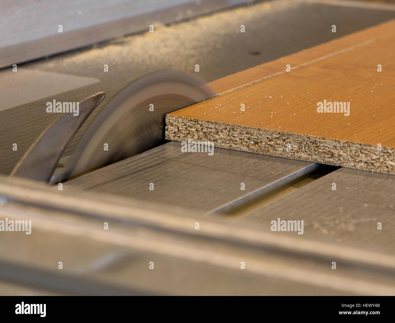 Kreissäge Holz Schneidebrett Werkbank Der Tischler Dem Element Für