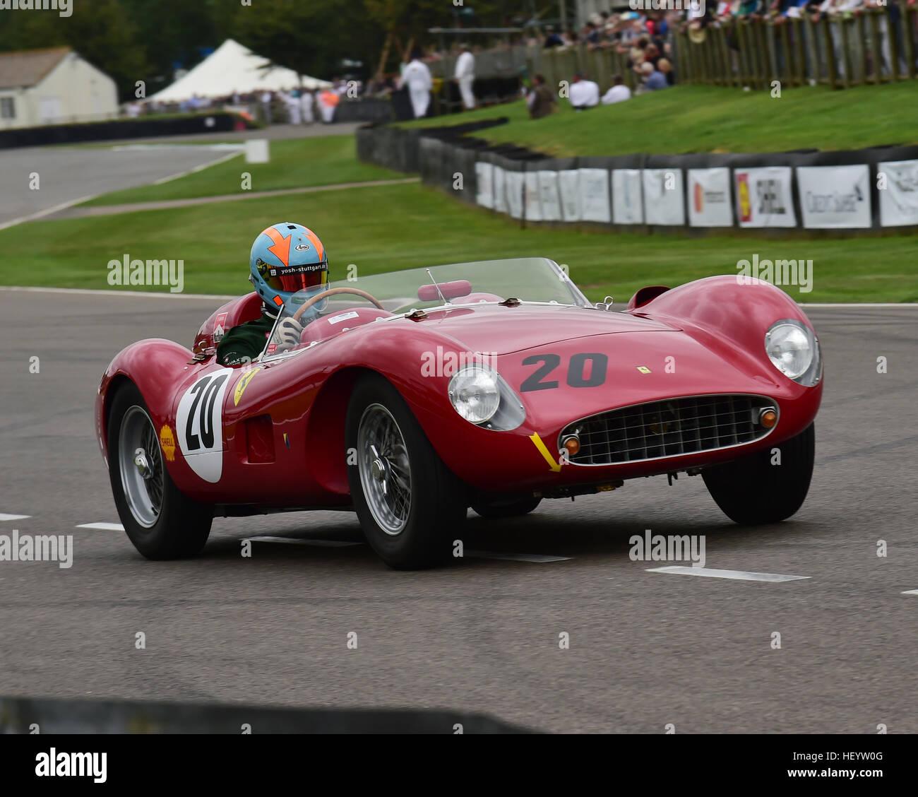 Christoph, Rendlen, Ferrari 500, Freddie März Memorial Trophy, Sports Racing Cars, Goodwood Revival 2016, 2016, Stockbild