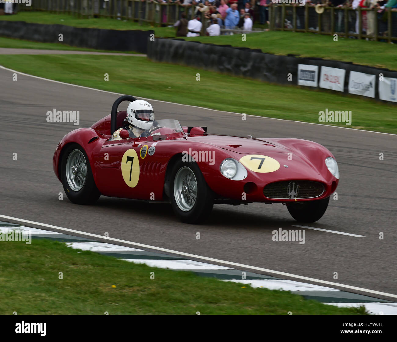 Conrad Ulrich, Maserati 300 s, Freddie März Memorial Trophy, Sports Racing Cars, Goodwood Revival 2016, 2016, Stockbild