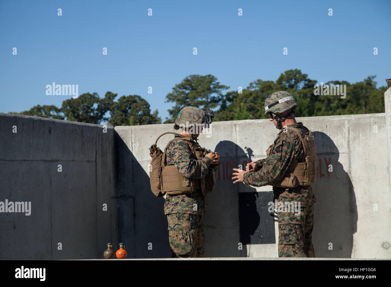 US Marine Corps Private First Class Cristina Fuentes Montenegro der ...
