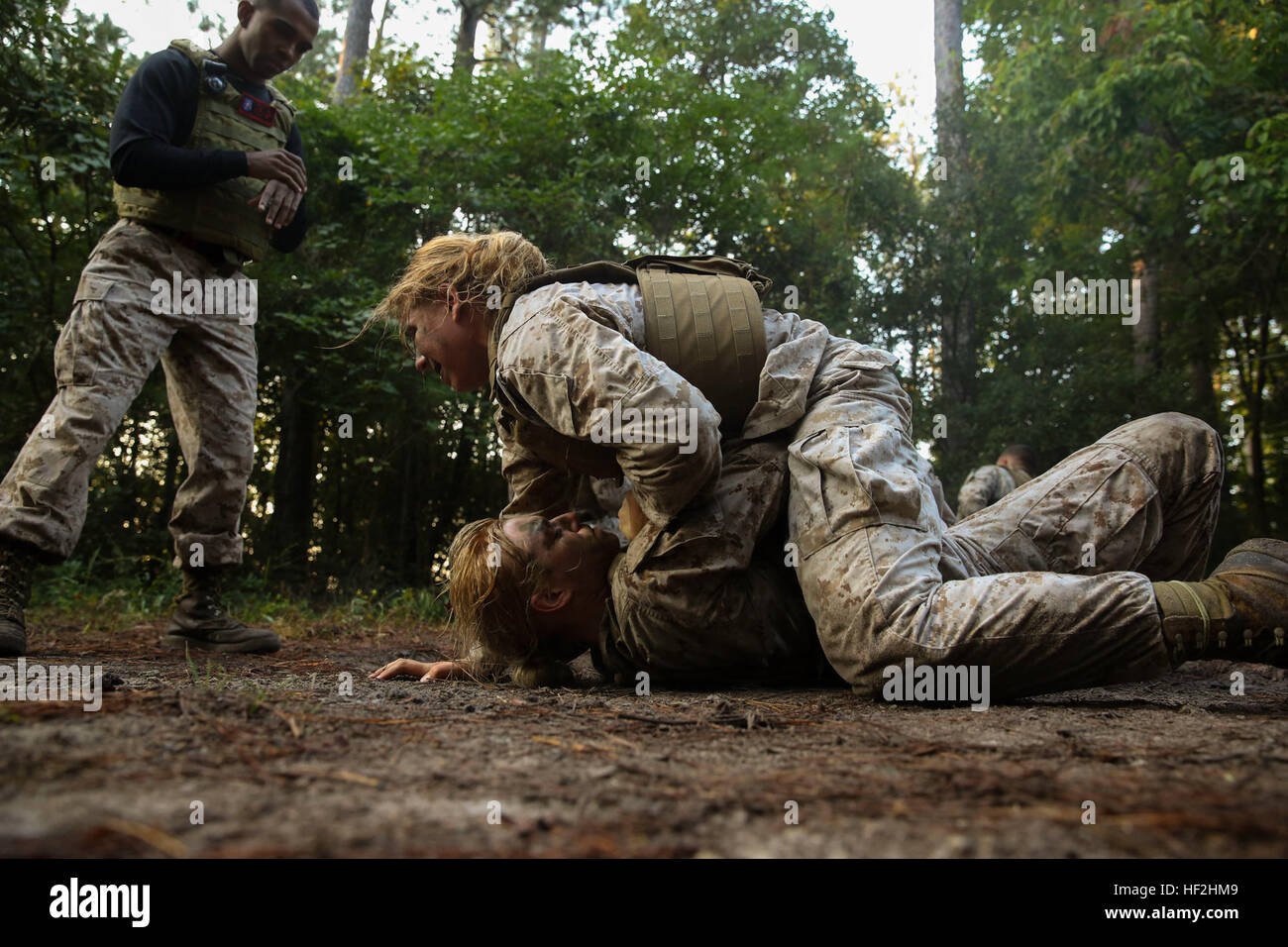 Marine Corps Martial Arts Program Instructor Stockfotos & Marine ...