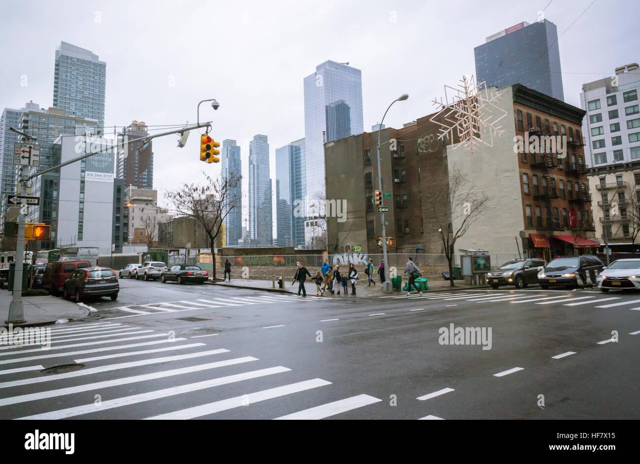 Brachflächen Voraussagen künftiger Entwicklung an der Ninth Avenue ...