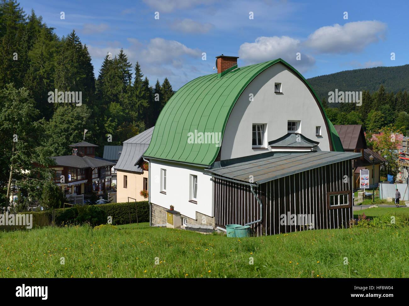 Wohnhaus, Spindlersmuehle, Stilsicheren, Wohnung, Haus, Hölzerne Spindel  Maker Mühle, Tschechien
