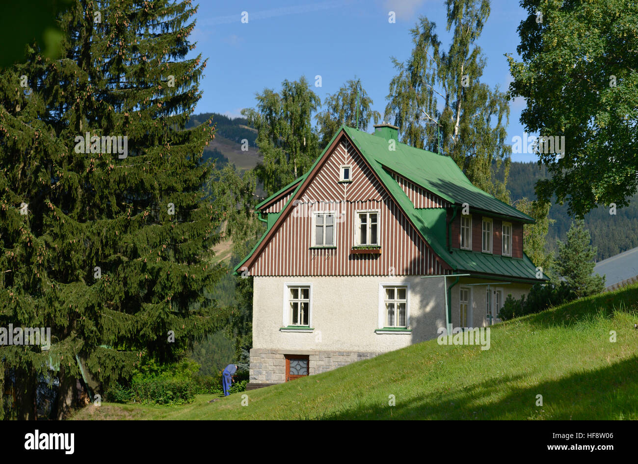 Lovely Wohnhaus, Spindlersmuehle, Stilsicheren, Wohnung, Haus, Hölzerne Spindel  Maker Mühle, Tschechien
