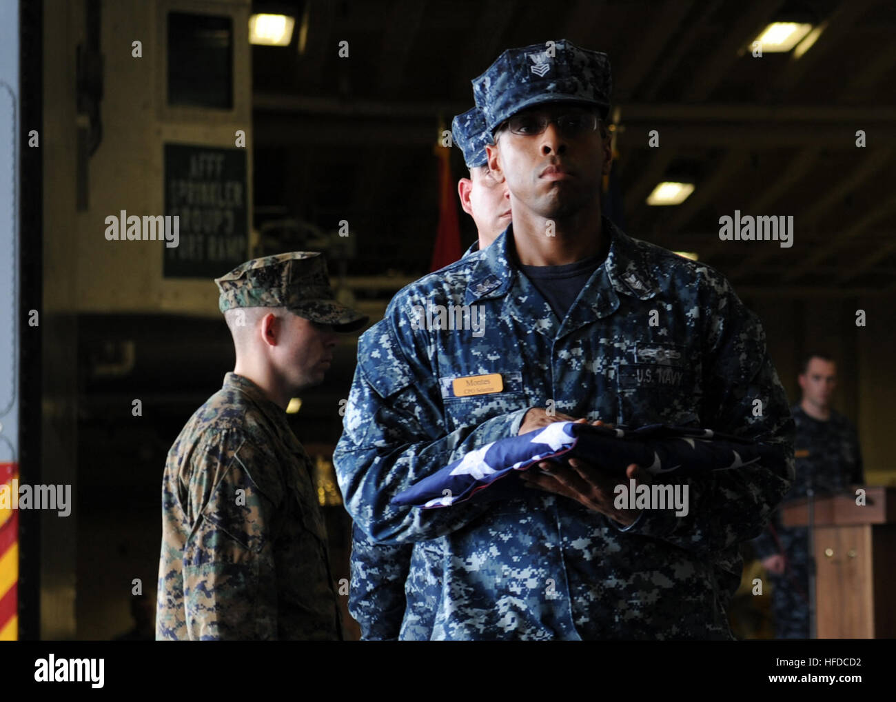 US Navy Chief (select) Air Traffic Controller Fernando Montes ...