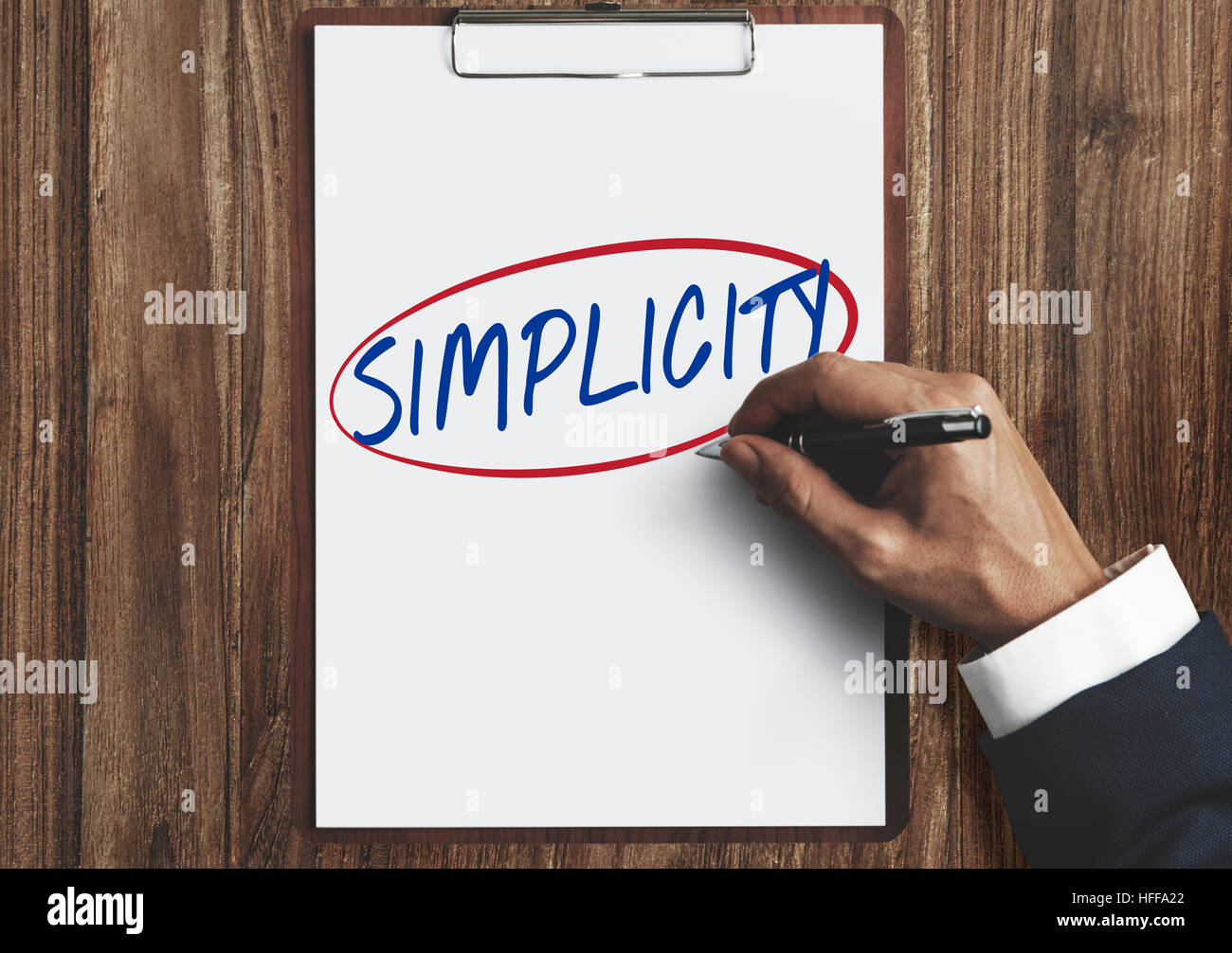 Simplicity Contemporary Minimal Peace Concept Stockfotos ...