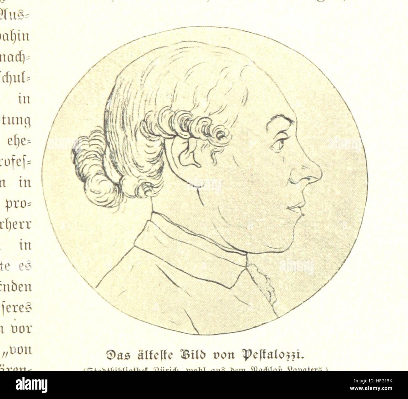 Sterben Sie Schweiz Im Neunzehnten Jahrhundert. Herausgegeben von Schweizerischen Schriftstellern Unter Leitung Stockbild