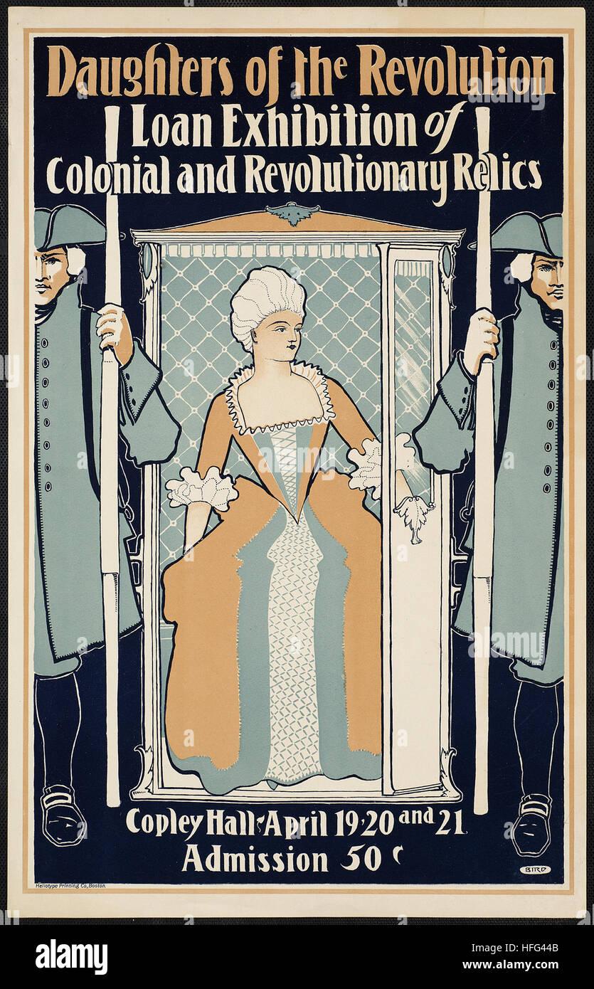 Töchter der Revolution Darlehen Ausstellung der kolonialen und revolutionäre Relikte Stockbild