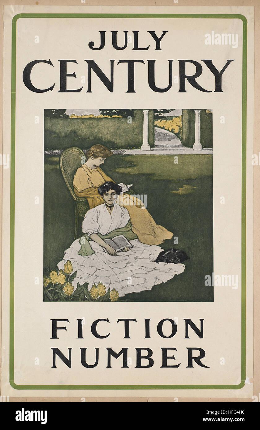 Juli Jahrhundert, Fiktion Anzahl Stockbild