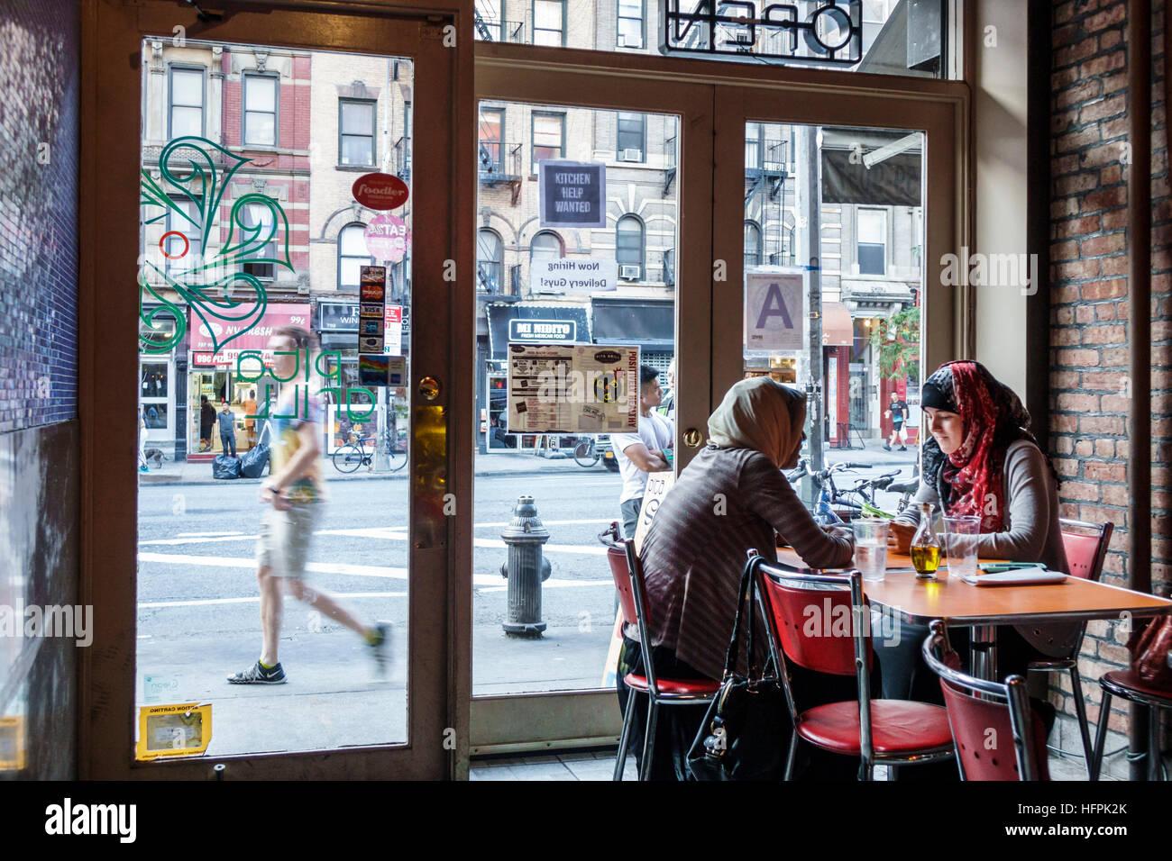 Manhattan New York City NYC NY Hölle Küche Pita Grill Restaurant im ...