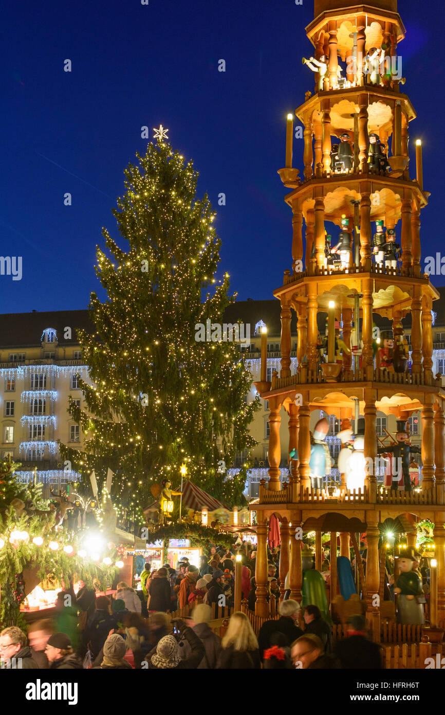 Dresden Weihnachten.Dresden Weihnachten Markt Striezelmarkt Am Altmarkt Weihnachts