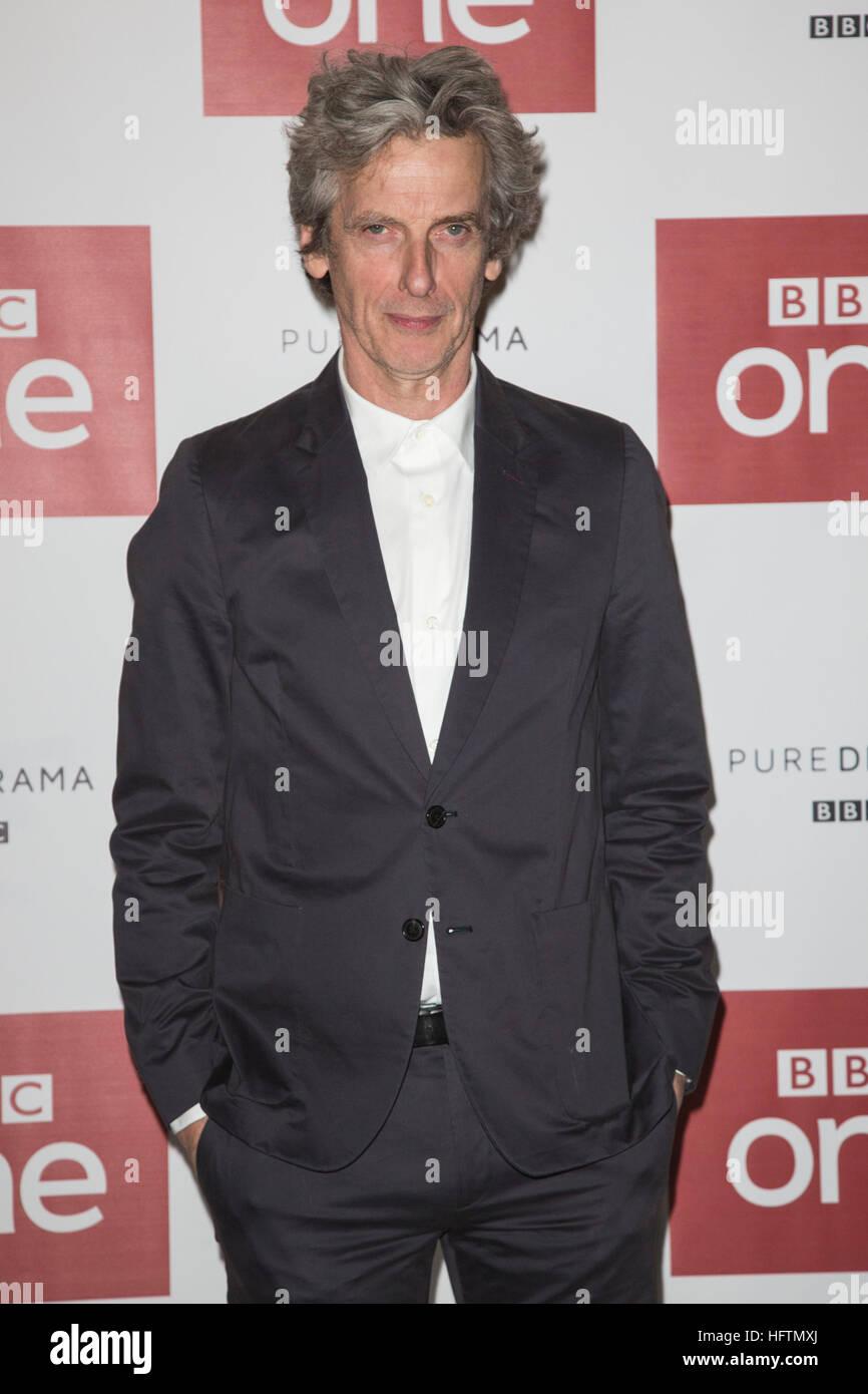 London, UK. 14. Dezember 2016. Auf dem Bild: Peter Capaldi. Peter ...