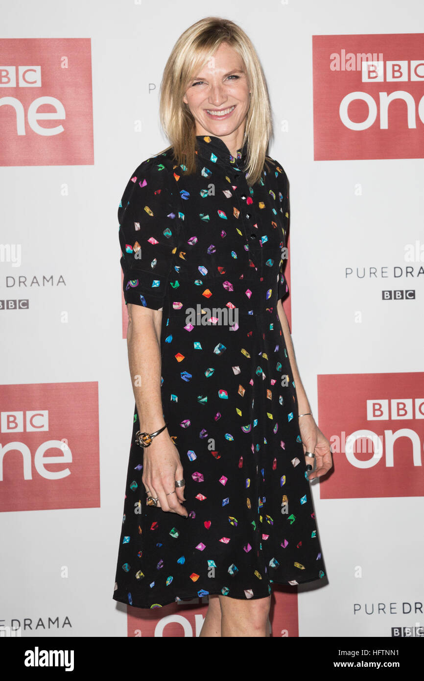 London, UK. 14. Dezember 2016. BBC-Moderator Jo Whiley. Peter ...