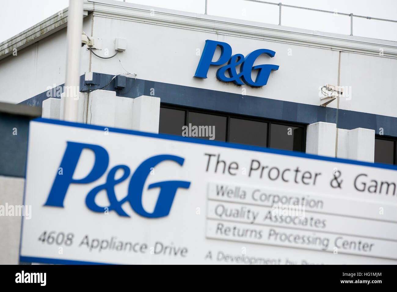 Procter And Gamble Logo Stockfotos Procter And Gamble Logo Bilder