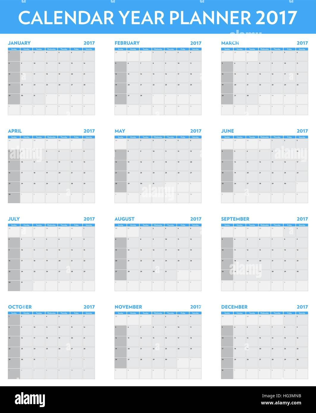 Ziemlich Ein Jahr Kalendervorlage Bilder - Entry Level Resume ...