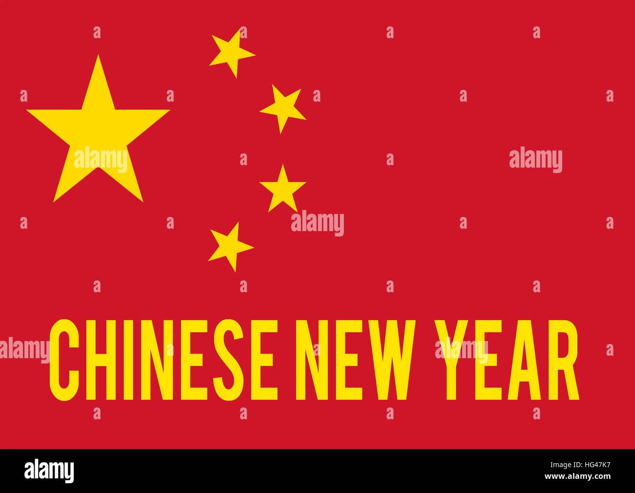 Chinese New Year, Flag of China, Motivation, Poster, Zitat ...