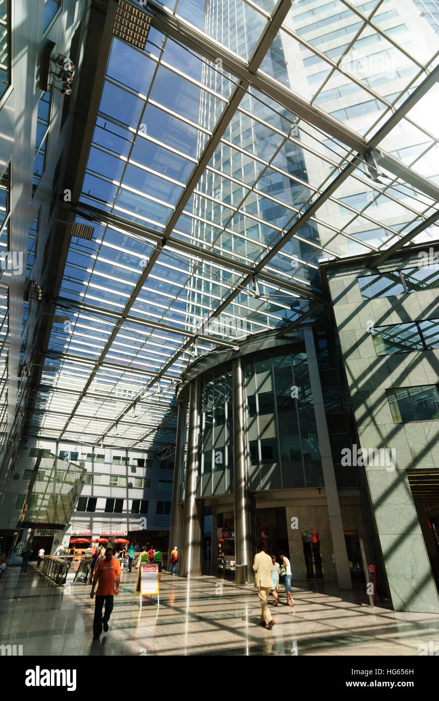 Wien, Wien: Büroturm Millennium Center, 01., Wien, Österreich Stockbild