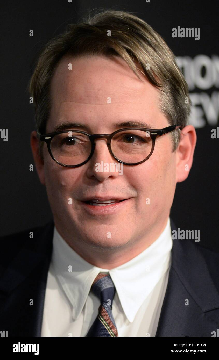 New York, NY, USA. 4. Januar 2017. Matthew Broderick im ...