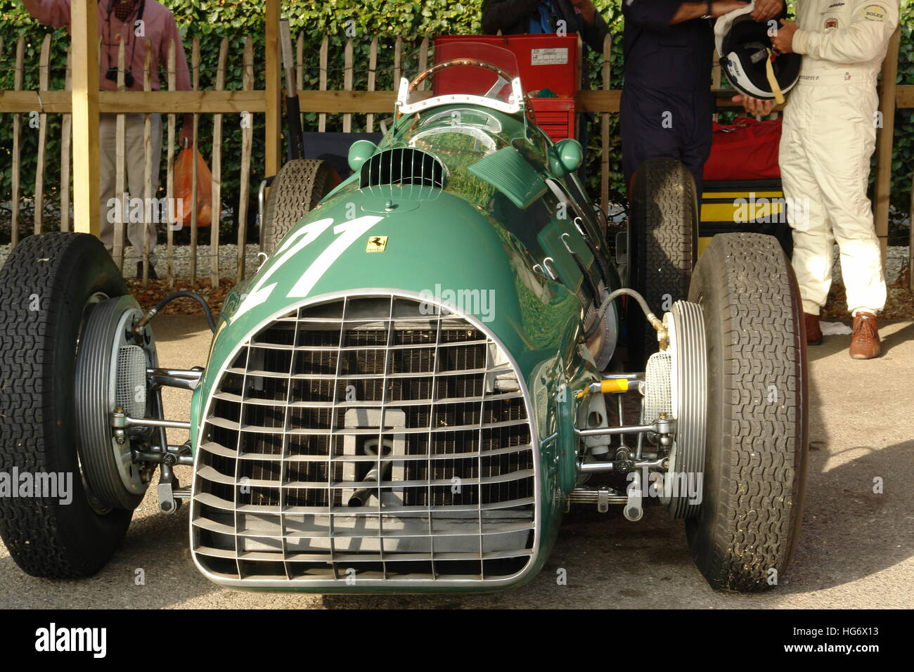 Goodwood Motor Circuit Stockbild