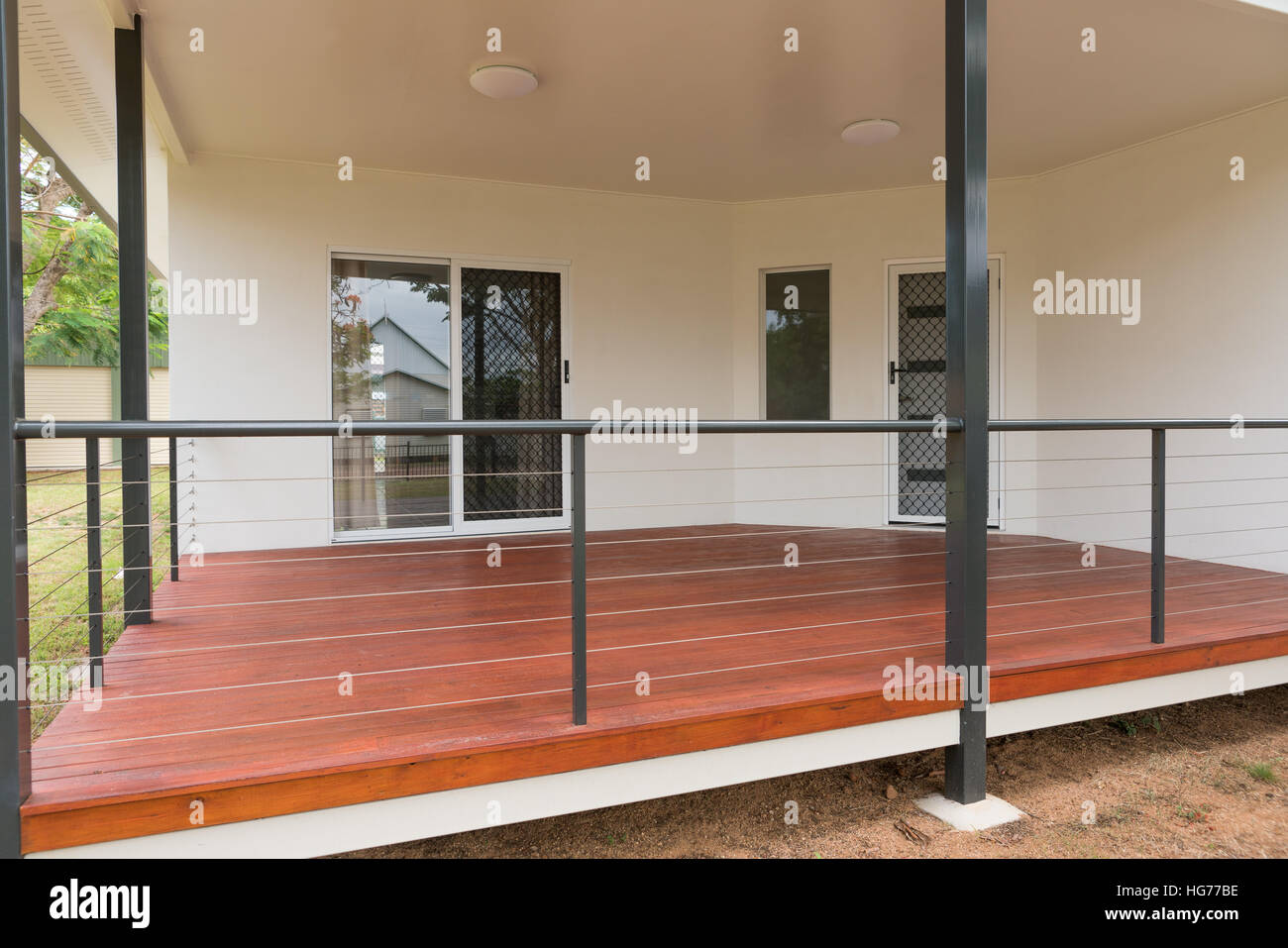 Balcony Timber Stockfotos & Balcony Timber Bilder - Alamy