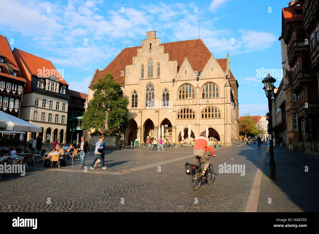 Impressionen: Hildesheim. Stockbild