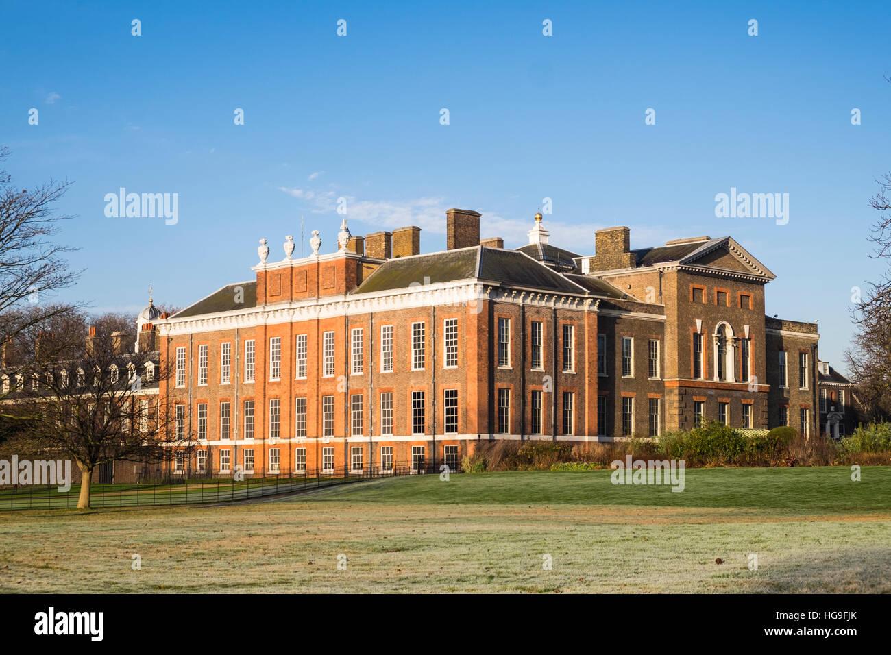 Kensington Palace, London, England, Großbritannien Stockbild
