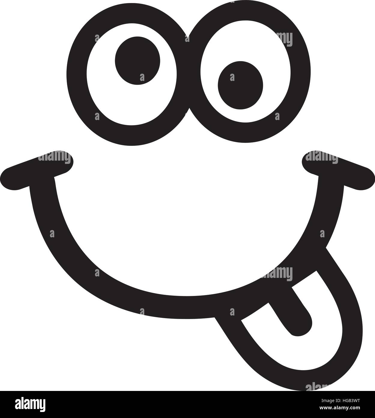 Smile Zunge