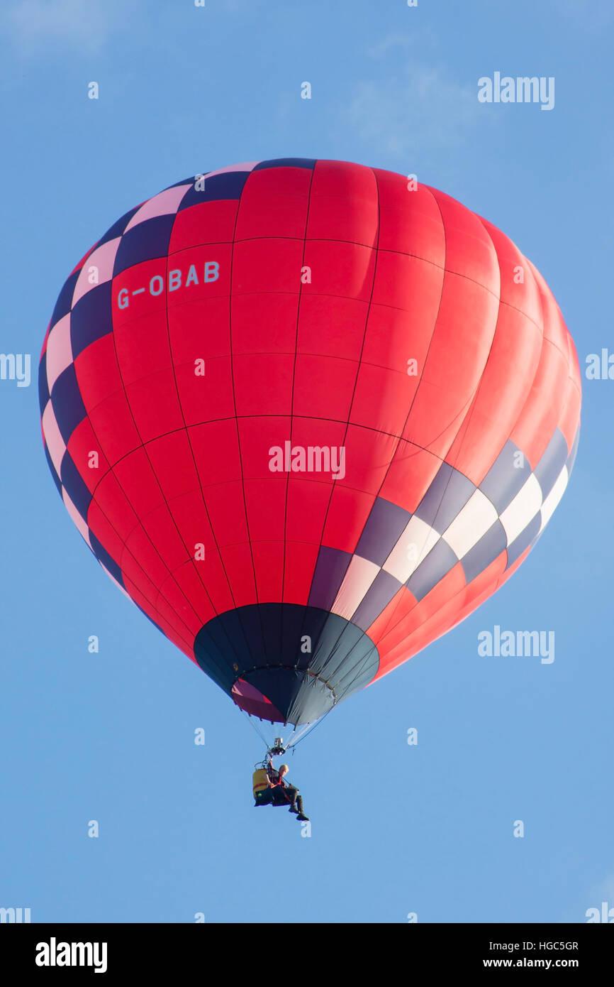 G-Tino Lindstrand LBL Heißluftballon in Bristol International Balloon Fiesta 2016 Stockfoto