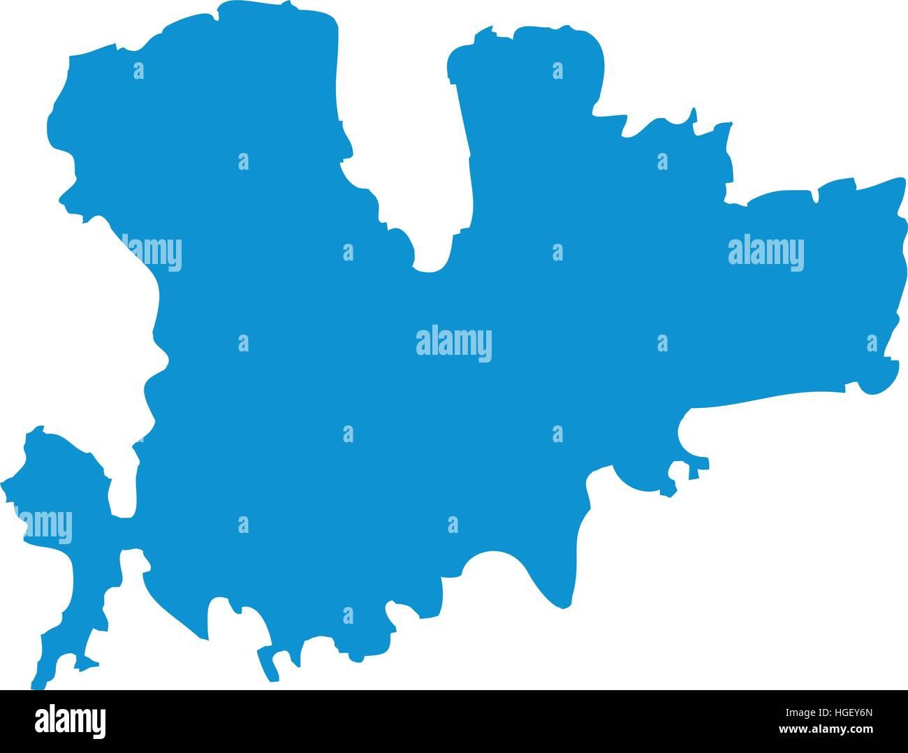 mykonos karte Mykonos Karte silhouette Vektor Abbildung   Bild: 130635757   Alamy