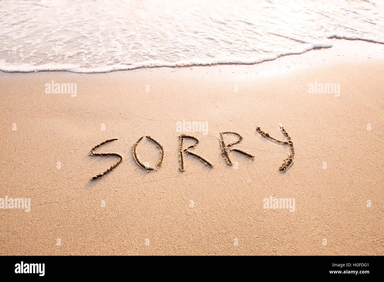 Es tut mir leid entschuldigung video