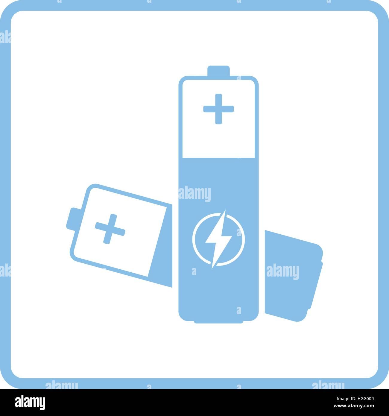 Battery Half Icon Sign Symbol Stockfotos & Battery Half Icon Sign ...