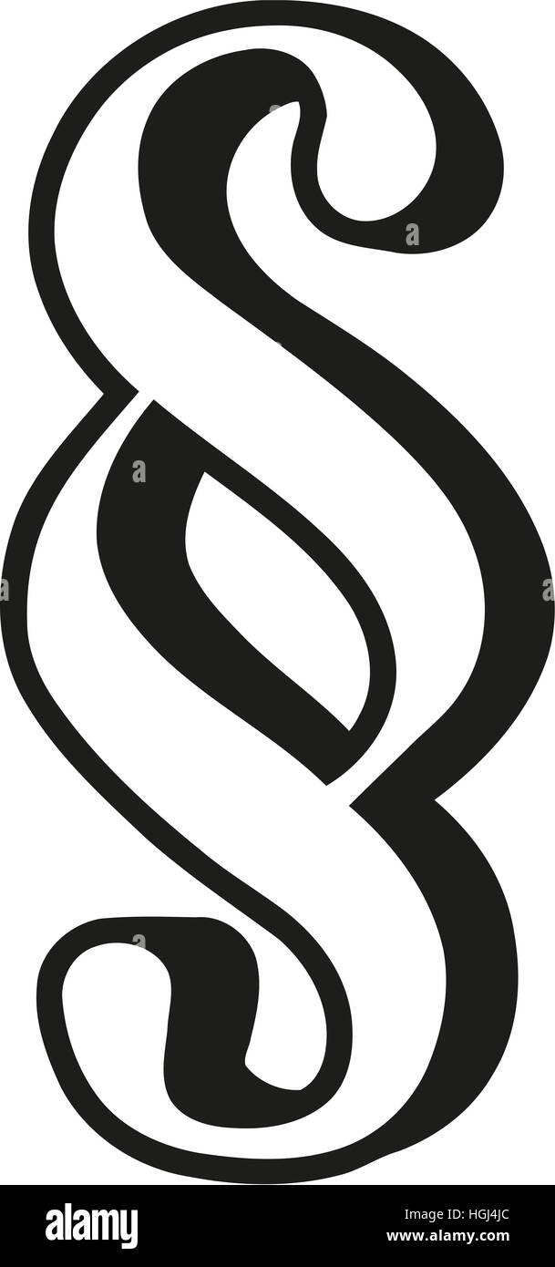 Absatzsymbol skizziert Stockfoto