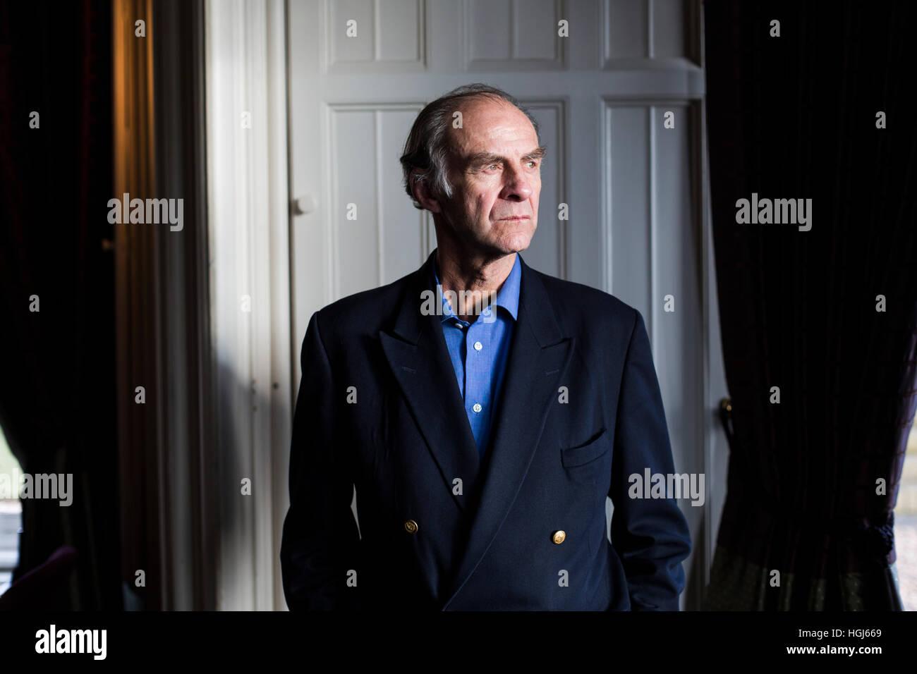 Explorer Sir Ranulph Fiennes Stockbild