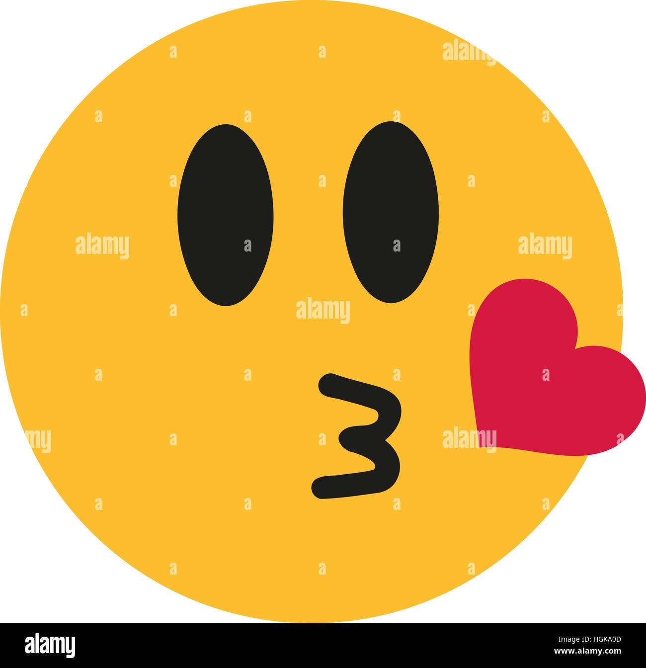 Herz smiley zeichen kuss roarhinindi: Kuss