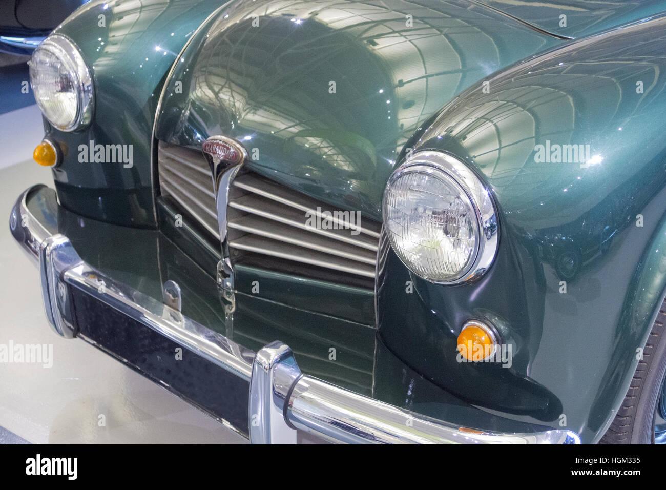 1951-Rover-Marodeur Motor Auto, UK Stockbild