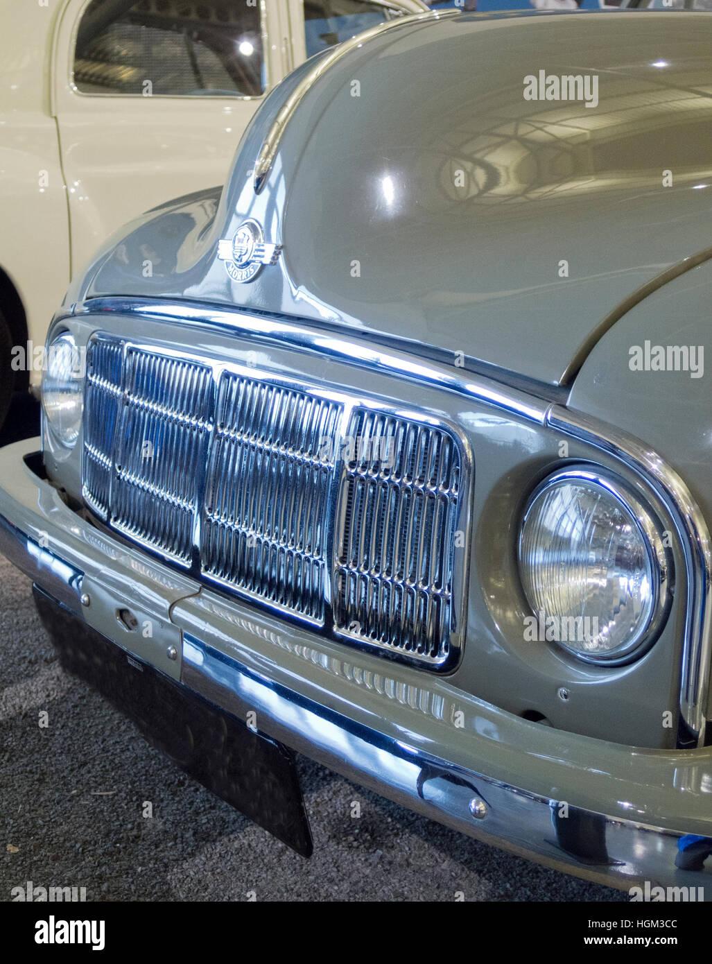 1948 Morris Minor markieren Sie ein Auto, UK Stockbild