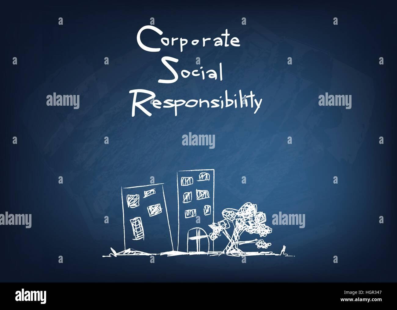 Geschäftskonzepte Csr Abkürzung Oder Corporate Social