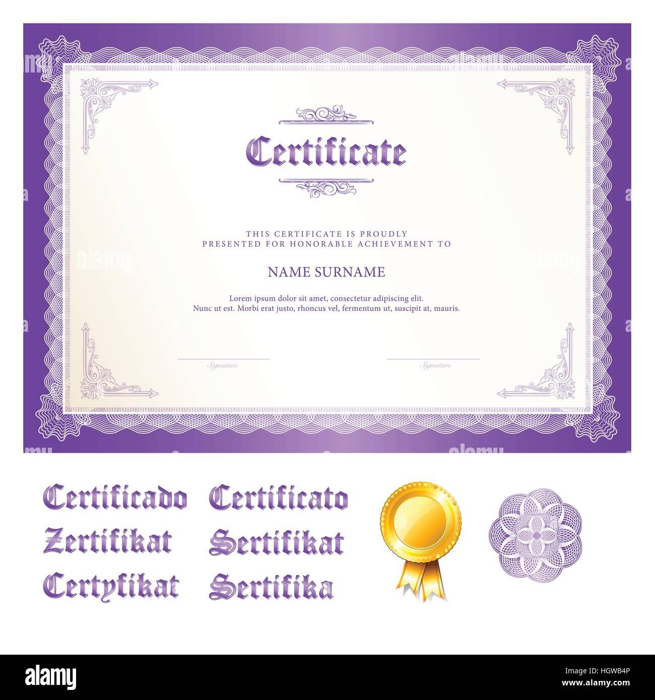 Erfreut Zertifikat Der Anwesenheitsvorlage Zeitgenössisch - Entry ...
